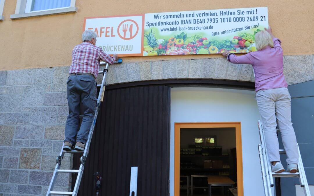 Tafel Bad Brückenau an neuen Standort in der Dr.-Gartenhof-Straße 6 umgezogen