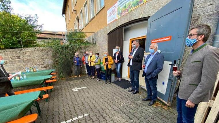 Einweihungsfeier der neuen Räumlichkeiten der Tafel Bad Brückenau